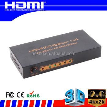 2.0 HDMI splitter 1X4