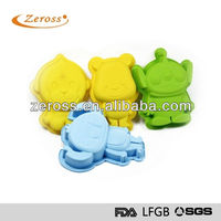 Food Grade monkey silicone cake&chocolate&cheese mold