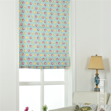 Modern style design wholesale china factory monkey printed roman window blinds