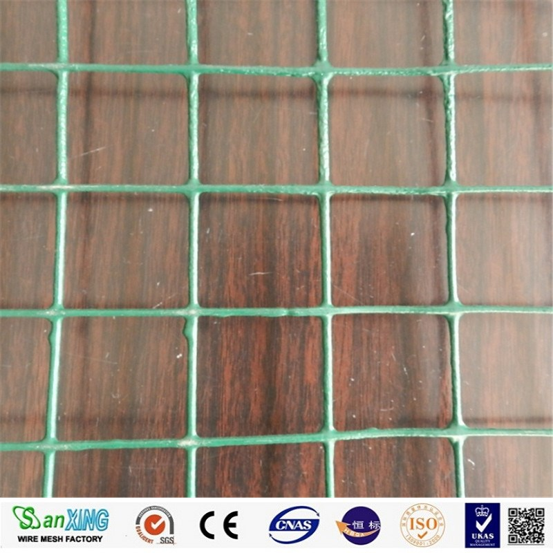 PVC Plastic coated welded wire mesh for making crab trap
