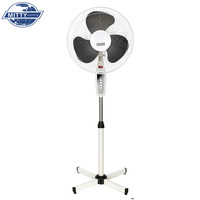 Speed Adjustable Natural Wind Cross Base 16 Inch Stand Fans