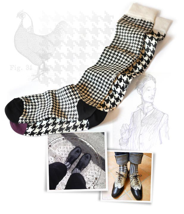 Wholesale China Socks Factory Italy Design Black White Patterns Man Cotton Knitted Winter Outdoor Light Crew Sock