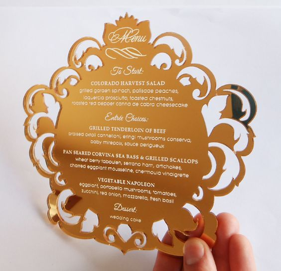 Custom Hot Stamp Red Pocket Nice Wedding Invitation Cards with Embossed Printing