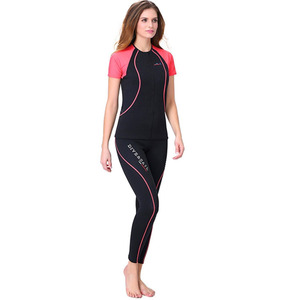Shorty Neoprene-Wetsuit Dry Suit Diving For Women