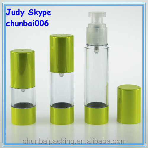 airless spray bottle for serum 50ml,Hair oil bottle airless
