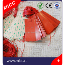 MICC high thermal efficiency silicone rubber heating pad