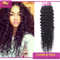 wholesale malaysian virign human hair weaves bleached dyeable virgin malaysian deep curly hair 3pcs 18inch