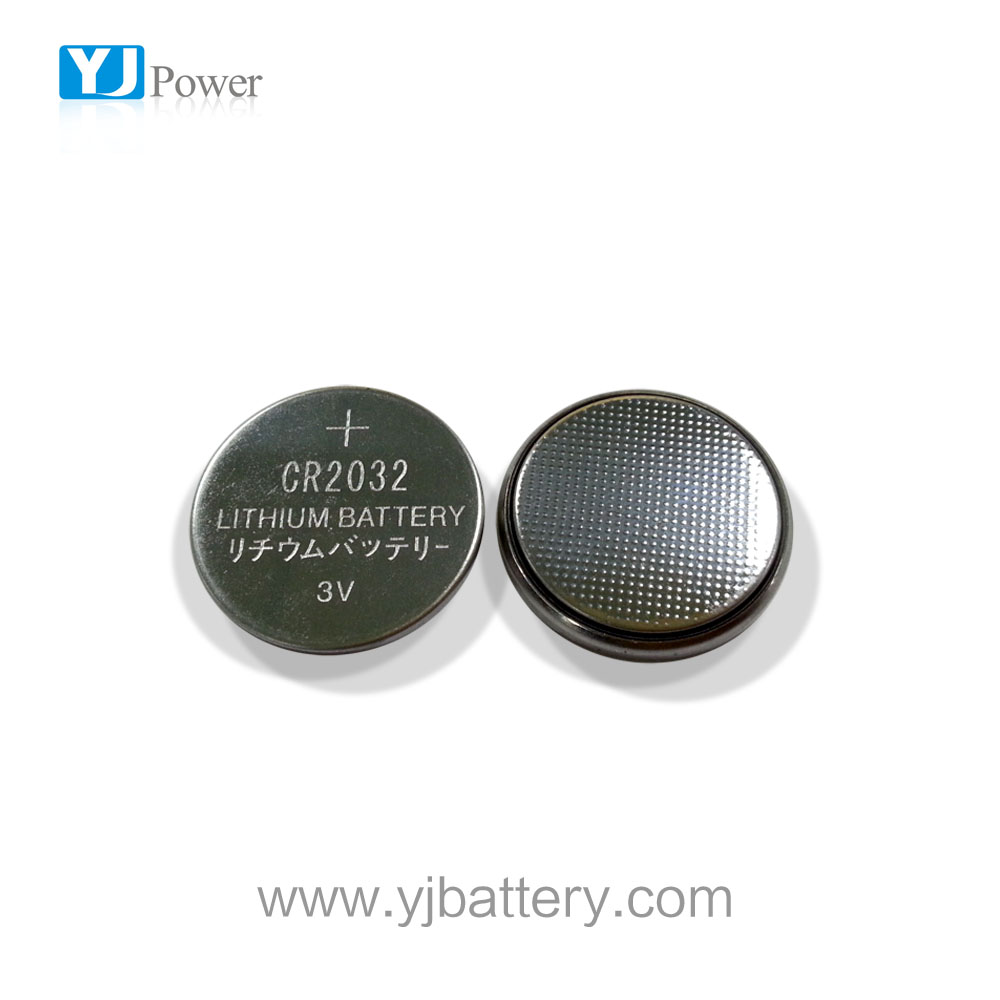 3V Lithium button cell LiMnO2 CR2032 battery