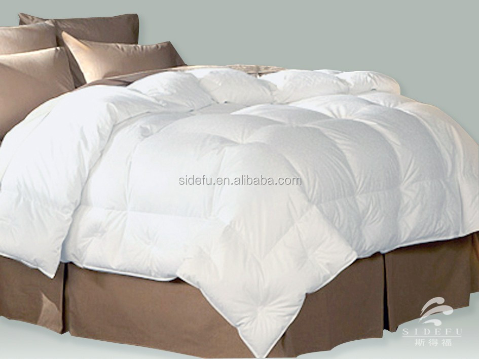 hotel Luxury High Qualtiy Wholesale white duck down duvet