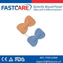CE Approved Butterfly Waterproof Wound Bandage