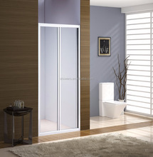 SUNZOOM shower door, folding shower door,glass shower door pivot
