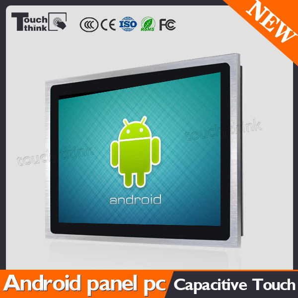 IP66 12inch Capacitive Touch Screen Industrial Android Panel PC RK3188 Quad-core Aluminum Alloy Enclosure(Silver)