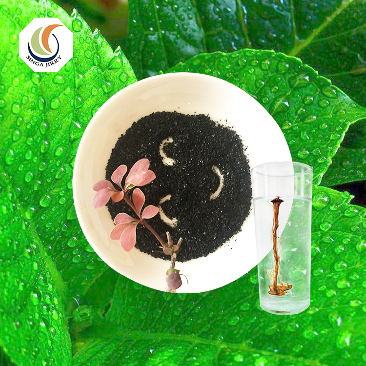 High quality 65% Humic Acid Water Soluble Sodium Humate Powder