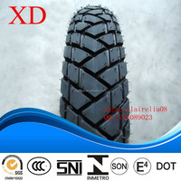 motorcycle tube tire 80/100-14 with dunlop pattern