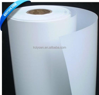 opaque & white inkjet printing PP synthetic paper