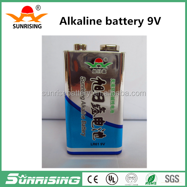 6F22 9v dry cell primary kids cars dry battery manufacturers