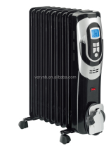 Oil Filled Radiator Heater With LCD display,Digital control CYAA02 CE/CB/ROHS/GS