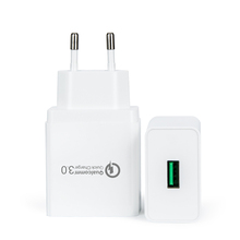 OEM Super Fast US EU Plug Travel Mobile Phone Charger, Wall USB Charger For Samsung iPhone Charger