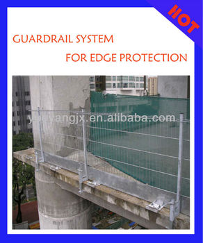 Slab Guardrail System For Edge Protection