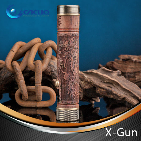 Newest e-fire x.gun vv mod vision ecig with stock
