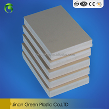 hot sale waterproof wood plastic composite wpc foam sheet board/pvc foam sheet for cabinets