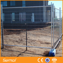 Anping factory wholesale metal wire modular fence panels temporary fence