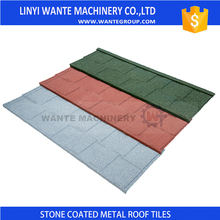 Factory Supply roofing stone coated roof tile in Nigeria made China