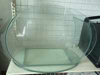 Wholesale Special Shape Ultra Clear Glass Fish Tank