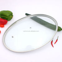 Kitchenware pot lid cookware parts glass cover