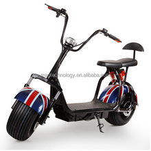Long range 1200w 60V 2 wheel electric bike / scooter / motorcycle with rear light and mirror