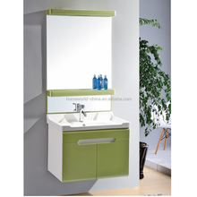 china sanitary ware supplier factory modern pvc bathroom cabinet