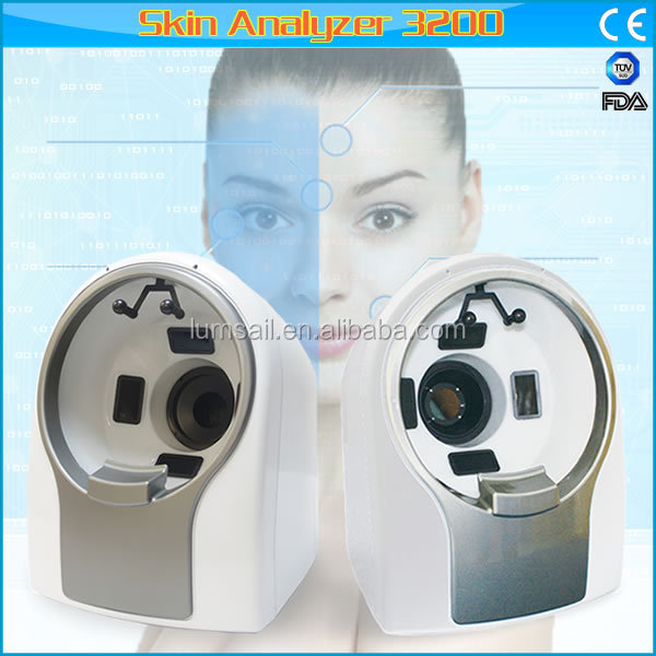 3D portable face skin analysis machine 3D skin analyzer