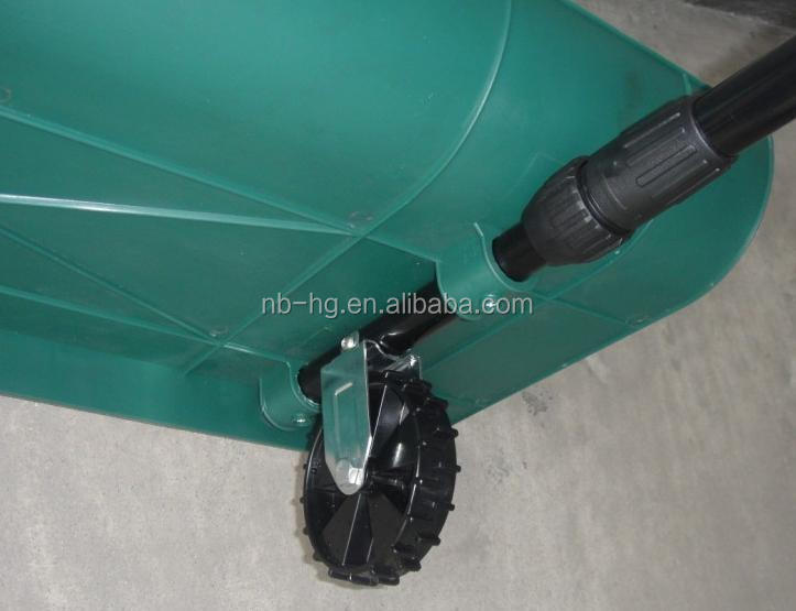 Retractable Detachable Snow Shovel with Wheels