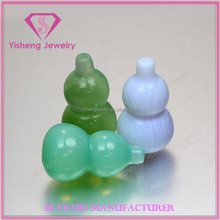 AAAAA lose diamanten lots jade calabash in factory best price