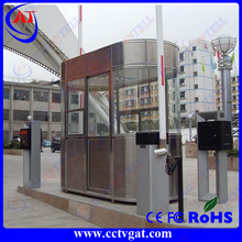 residential building/ building construction Steel Structure Prefabricated Movable sentry box shed for sale
