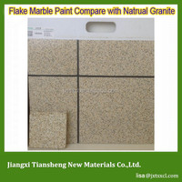 Popular Exterior Wall Paint Deco Liquid Granite Flakes Stone Coating