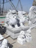 Beautiful & good quality flying marble lions