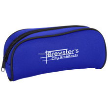 insulated neoprene pencil bag with zipper