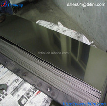 hot sales Supply Gr2 Pure Titanium and pure brushed nickel sheet metal