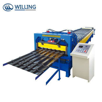 Trapezoidal roll forming machine in stock