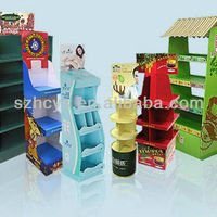 Gift Wrapping Paper Floor Display Stand