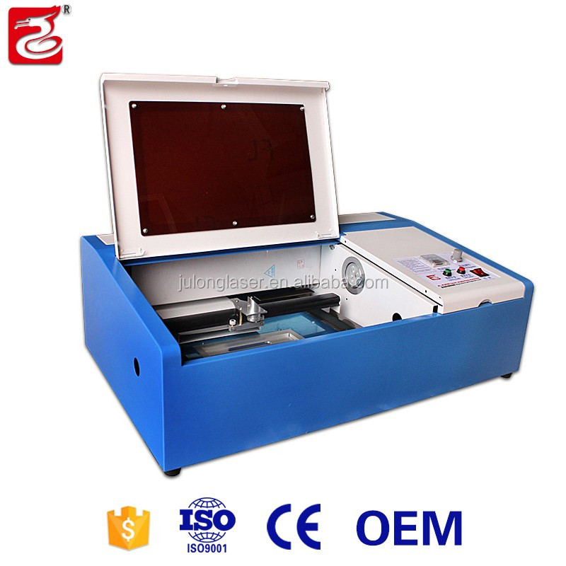 Coredrow sotware laser engraver machine used Co2 laser tube