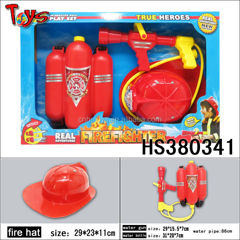 plastic cheap price child toy firefighting equipment