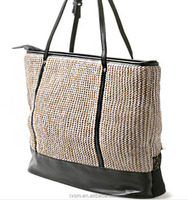 Fashion Women New Style Pastoral Style Rattan Little Basket Handbag Lace Beach Bag Straw bag