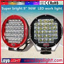 Super brightest ! arb intensity led spot 9 inch 96w C ree led driving lights