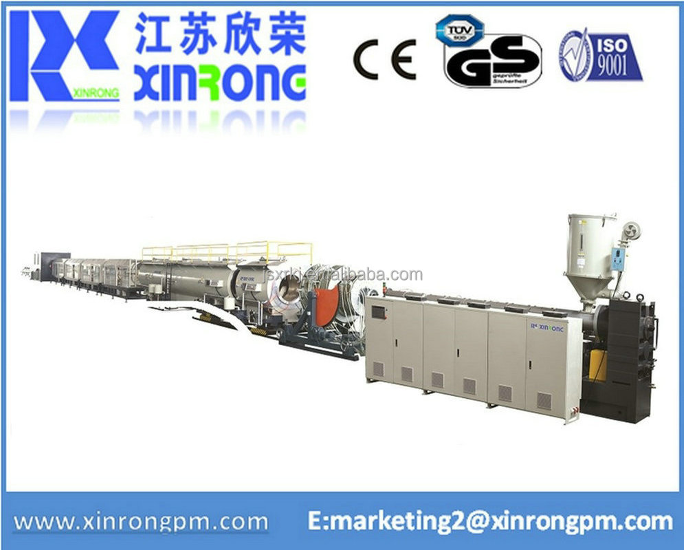plastic pe solid pipe production line manufacturer china