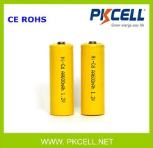 Factory Price Ni Cd Battery 1.2V 600Mah Aa Ni-Cd Rechargeable Battery From Shenzhen China