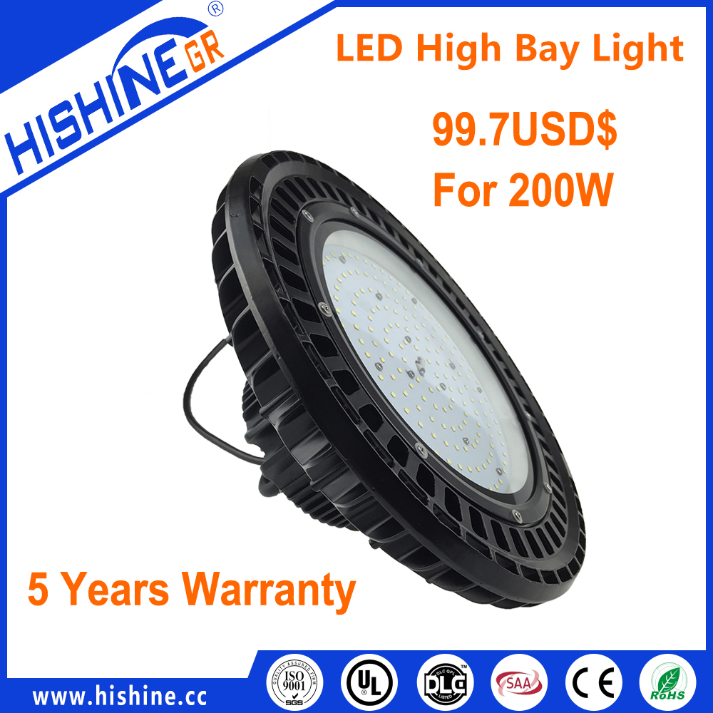 UL CUL LED Linear High bay light 50w to 500w 170LM/W IP65 waterproof commercial industrial