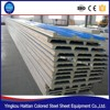 High desity Color Galvanized Steel PU sandwich panel price, 1000mm width Corrugated sandwich wall/roof panel