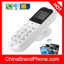 Wholesale price free shipping LONG-CZ J8 Mini Phone with Hands Free Bluetooth Dialer and Bluetooth Headphone